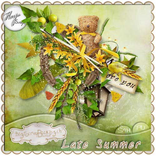 Scrap kit - Late summer