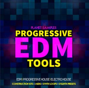 Planet Samples Progressive EDM Tools WAV MiDi