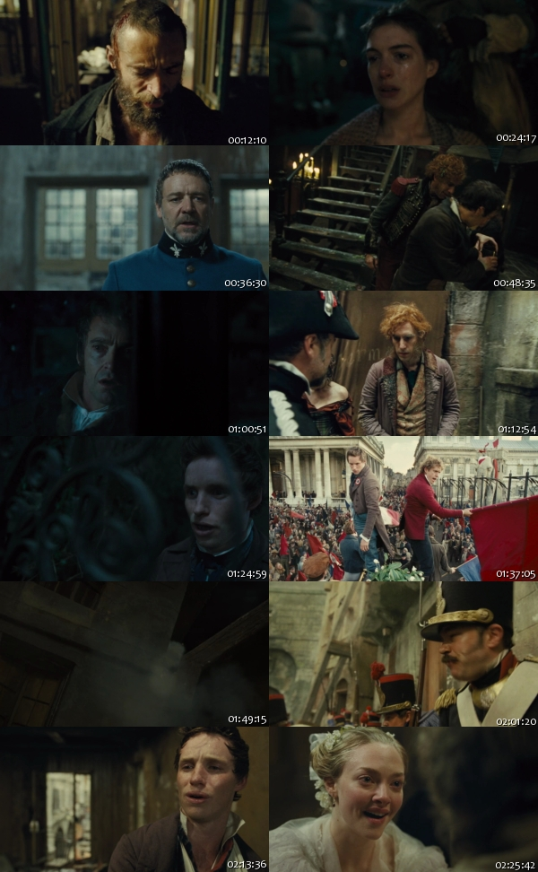 Les Miserables (2012) 720p BRRip 1.35GB - MC