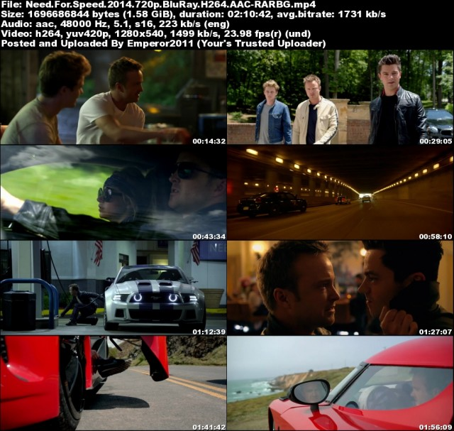 Need For Speed (2014) 720p BluRay H264 AAC-RARBG