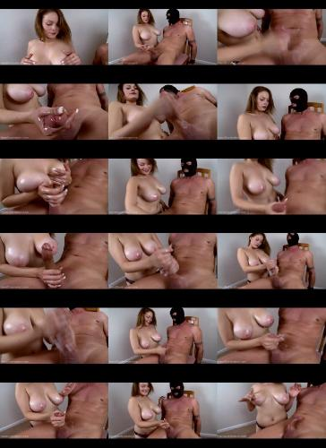 hd- Semen soaked TITS and a Brutal Post Orgasm Milking - BESTpaleTITSever - Tasha Knox