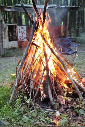 Evening Campfire Salute 2