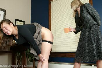 Spanking - Cindy's Office Phone Calls