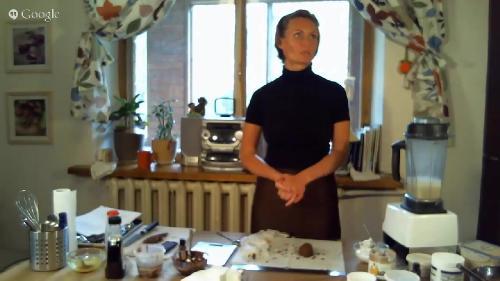 Шоколадный мастер-класс от Наталии Спитэри (2015)