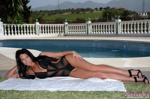 Lexi Lowe Poolside