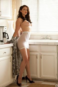 playboy white kitchen