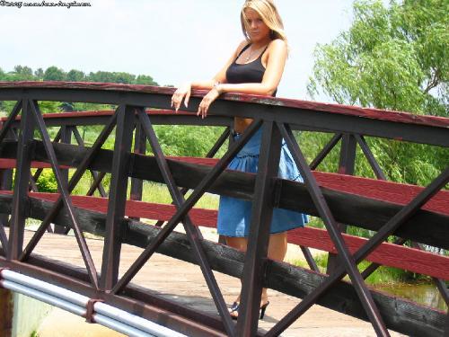 211 - Long Jean Skirt