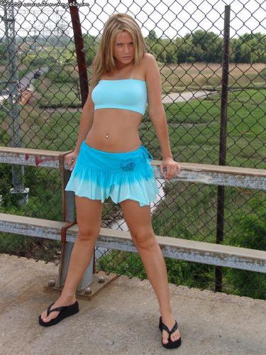 208 - Blue Skirt
