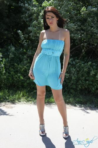 Set 0615 - Blue Dress Flashing