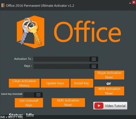 Office 2016 Permanent Activator Ultimate v1.2 + Portable