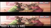 Зверополис 3D / Zootopia 3D Вертикальная анаморфная