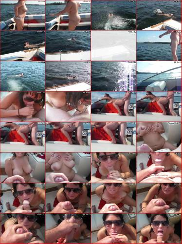Amateur couple makes home porn video on the boat hqhomeclips.com