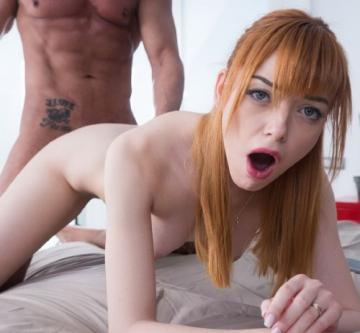 Anny Aurora - Red Head Teen Aurora Cheats On her Boyfriend (2016) HD 720p
