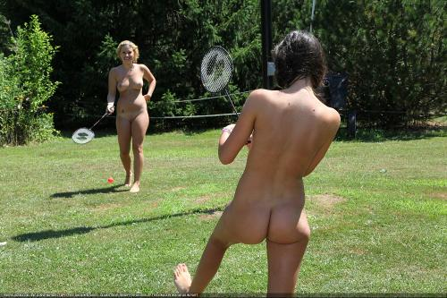 Nudist Badminton Game 1