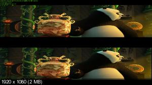 Кунг-фу Панда 3 / Kung Fu Panda 3 (2016) BDRip 1080p | halfOU | 3D-Video