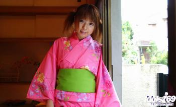 Miyu - Miyu Asian Babe Is Modeling A Sexy Kimono For Photos