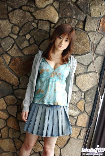 Sumire Aida - Sumire Aida Naughty Model Likes Showinf Her Huge Hooters