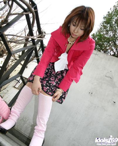 Asako - Asako Naughty Little Schoolgirl Enjoys Getting Her Pussy Stroked