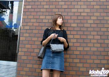 Kana - Kana Cute Asian College Girl Is A Horny Little babe In The Sack