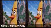 Angry Birds в кино / Angry Birds (2016) BDRip 1080p | 3D-Video | hSBS | iTunes