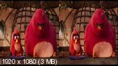 Angry Birds в кино / Angry Birds (2016) BDRip 1080p | 3D-Video | hSBS | iTunes