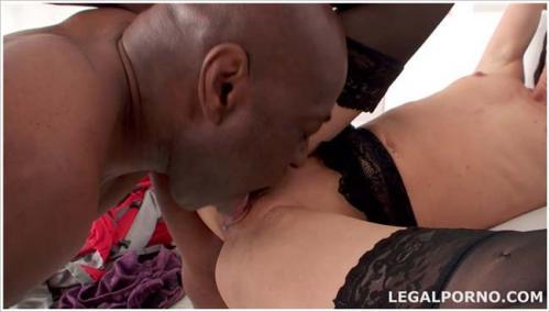 Black Buster Mike Chapman introduce Lina Arian to his big black cock Ass Fucking ball deep GIO040