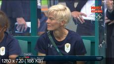 XXXI Летние Олимпийские Игры. Рио-де-Жанейро (Бразилия). Футбол. Женщины. Группа E. 1-й тур. Швеция - ЮАР [Матч ТВ HD] [03.08] (2016) HDTVRip 720p | 50 fps