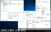 Windows 10 Enterprise 14393.10 LITE by Lopatkin (x86-x64) (2016) zh-CN