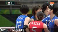 XXXI Летние Олимпийские Игры. Рио-де-Жанейро (Бразилия). Волейбол. Женщины. Группа A. 1-й тур. Япония - Южная Корея [06.08] (2016) IPTV 1080i
