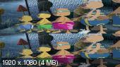 Ворона-проказница 3D / Der kleine Rabe Socke 3D  Вертикальная анаморфная