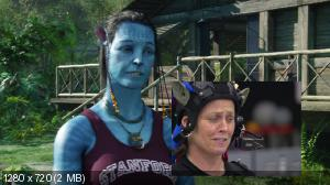 Аватар / Avatar [Бонус-диск] (2009) BDRip 720p от HQ-ViDEO | Sub | Дополнительные материалы