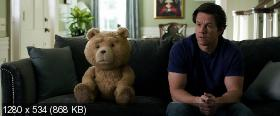 Третий лишний 2 / Ted 2 (2015) BDRip 720p от HELLYWOOD | Unrated | iTunes, A