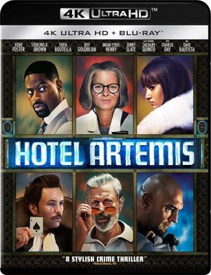 Отель «Артемида» / Hotel Artemis (2018) Blu-Ray 2160p | 4K | SDR | iTunes